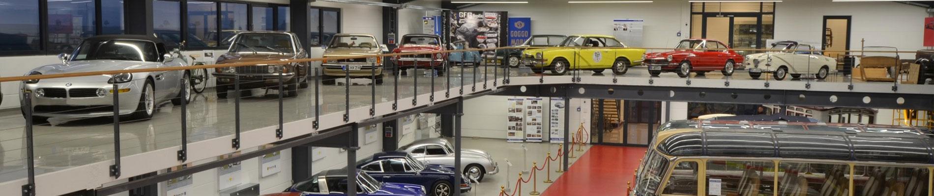 Oldtimer Fahrzeuge Begegnungshalle
